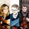 Streichtrio mit Tobias Feldmann (Violine), Isabelle van Keulen (Viola) und Julian Steckel (Violoncello)
